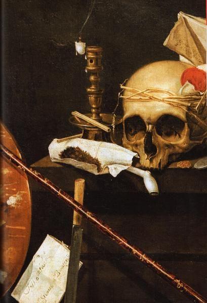Sébastien BONNECROY - Vanité à la pipe 1641, Musée des Beaux-Arts, Strasbourg DES VANITÉS (2) - W O D K A