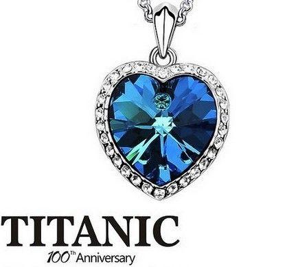 Do Filme Titanic Colar Coração do oceano colar para mulheres / venda limitada em Colares com pingente de Jóias na WWW.VISUALROUPAS.COM.BR