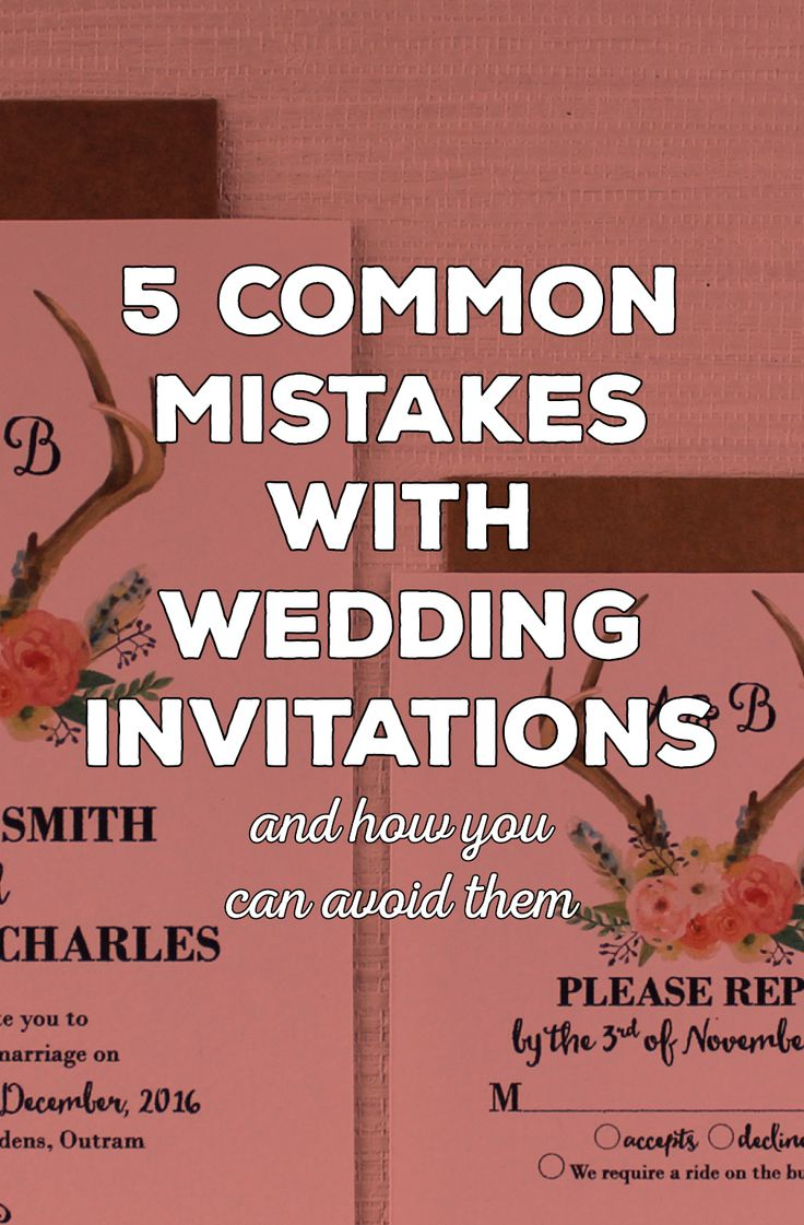 second wedding invitations wording%0A   Common Wedding Invitation Mistakes