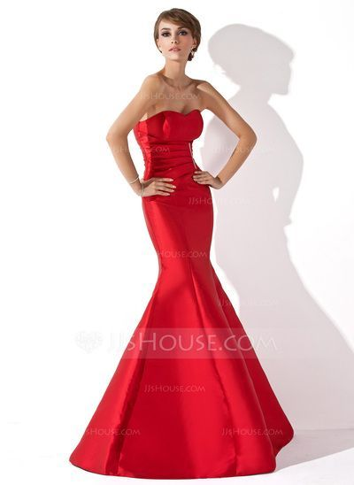 Evening Dresses - $119.99 - Trumpet/Mermaid Sweetheart Floor-Length Taffeta Evening Dress With Ruffle Beading (017013777) http://jjshouse.com/Trumpet-Mermaid-Sweetheart-Floor-Length-Taffeta-Evening-Dress-With-Ruffle-Beading-017013777-g13777/?utm_source=crtrem&utm_campaign=crtrem_US_28010