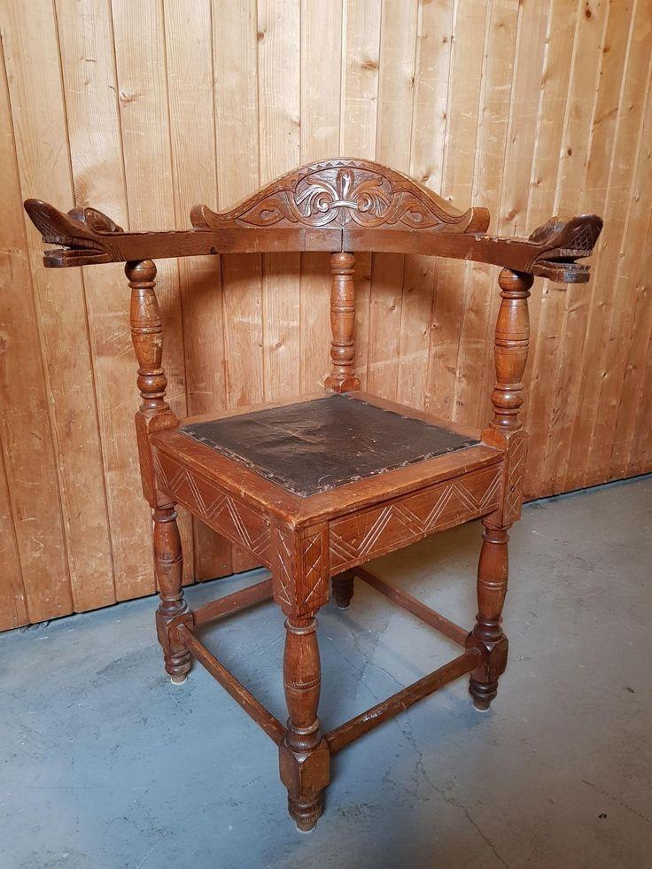 FINN – Antikk dragehode stol