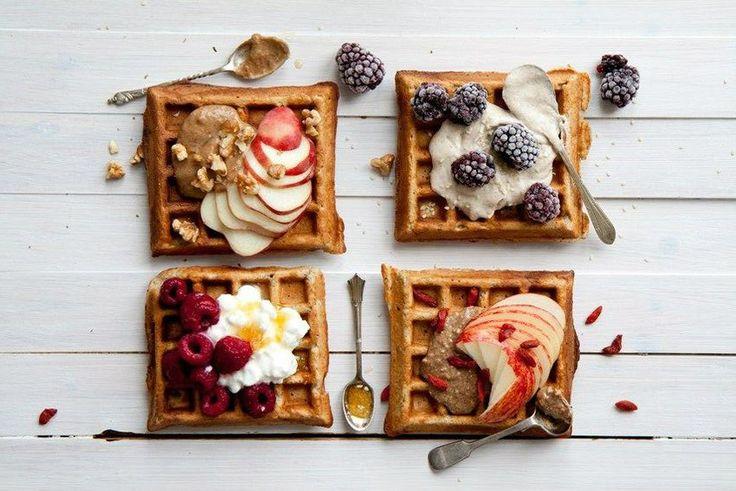 Om elke weekend van zoet ontbijtje te kunnen genieten, zonder je schuldig te voelen, hebben wij een alternatief voor je. Vandaag deze heerlijke wafels!