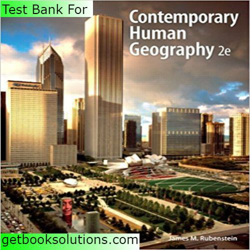 12 best sharebook images on pinterest textbook banks and manual test bank for contemporary human geography 2nd edition by rubensteindownload contemporary human geography 2nd fandeluxe Images