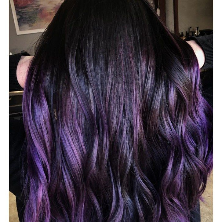 Pros Say Grown Out Roots Is A Huge Hair Color Trend For Spring Blackberry Hair Colour Spring Hair Color Brunette Hair Color