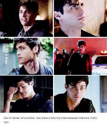 Alec is intense