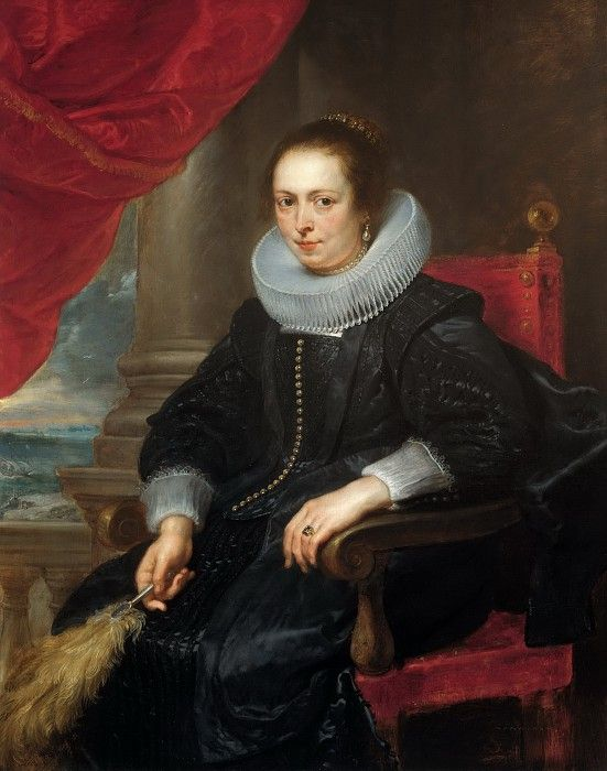 Рубенс, Питер Пауль - Женский портрет, возможно Клара Фурман (1593-1643). Маурицхёйс