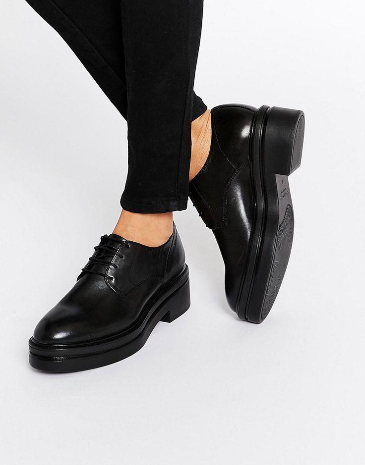 Изображение 1 из Черные туфли на массивной подошве со шнуровкой Vagabond Iza