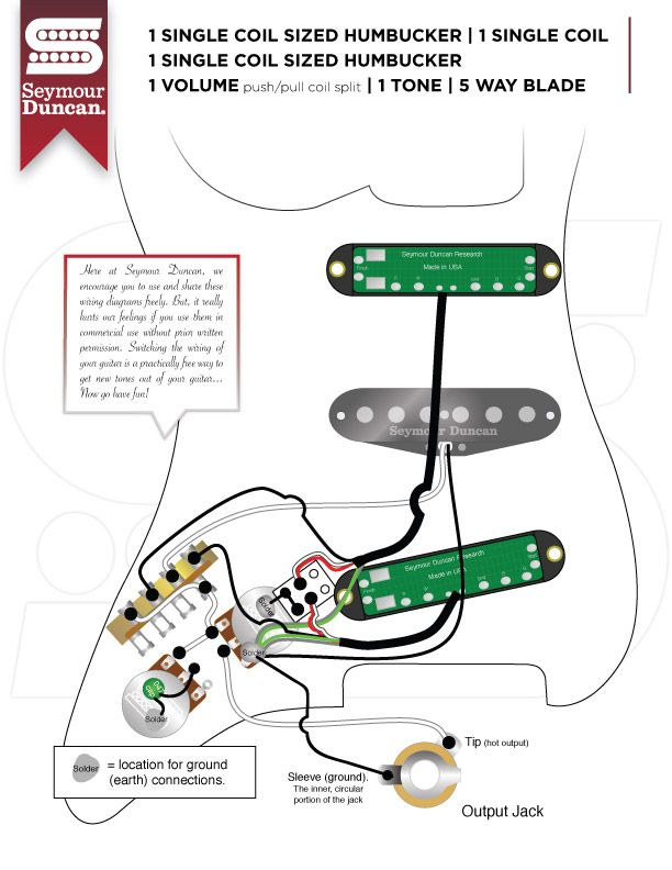7 Pickup Installation And Wiring Documentation Resources Guitar Chalk Seymour Duncan Wire Guitar