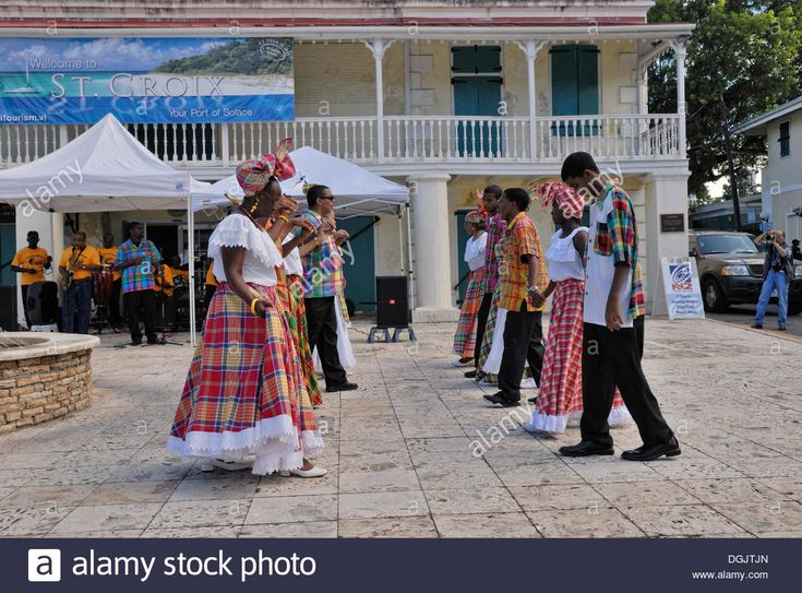 Folk Group Dancing A Quadrille, Frederiksted, St. Croix Island, Us Stock Photo, Royalty Free Image: 61880077 - Alamy