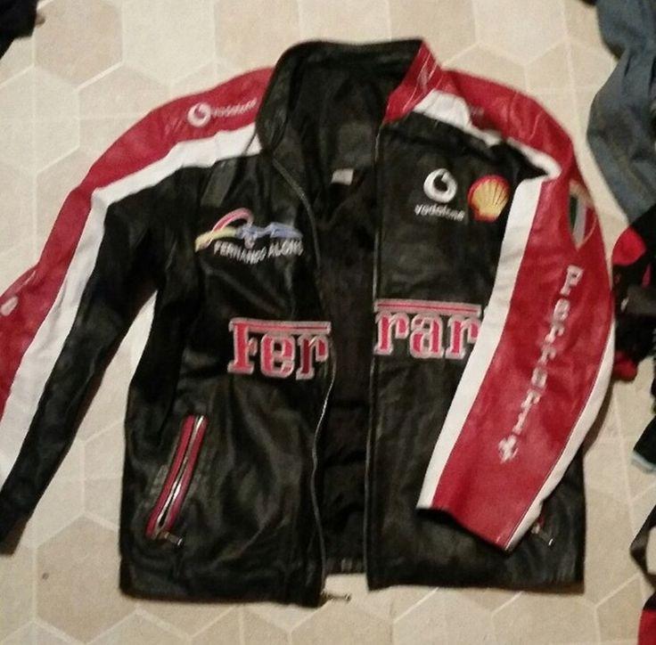 Buy Ferrari Ferrari Leather Jacket, Size: L, Description: Ferrari leather biker jacket   Condition 8/10   , Seller: jamessutton1, Location: United Kingdom