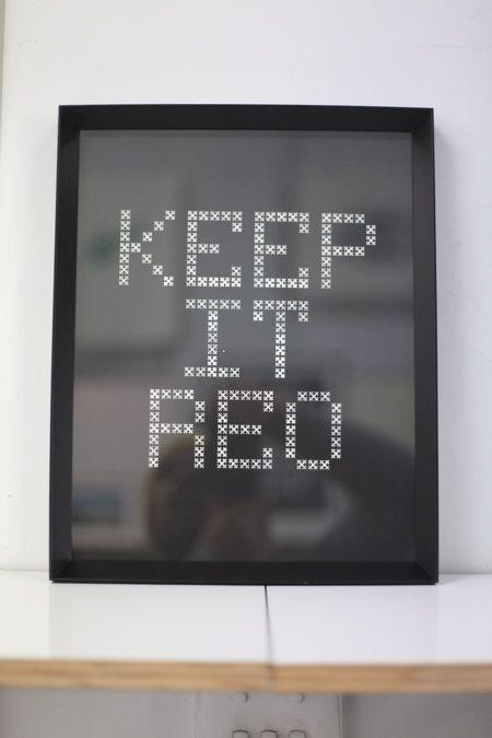 Keep it reo print for Maori language week