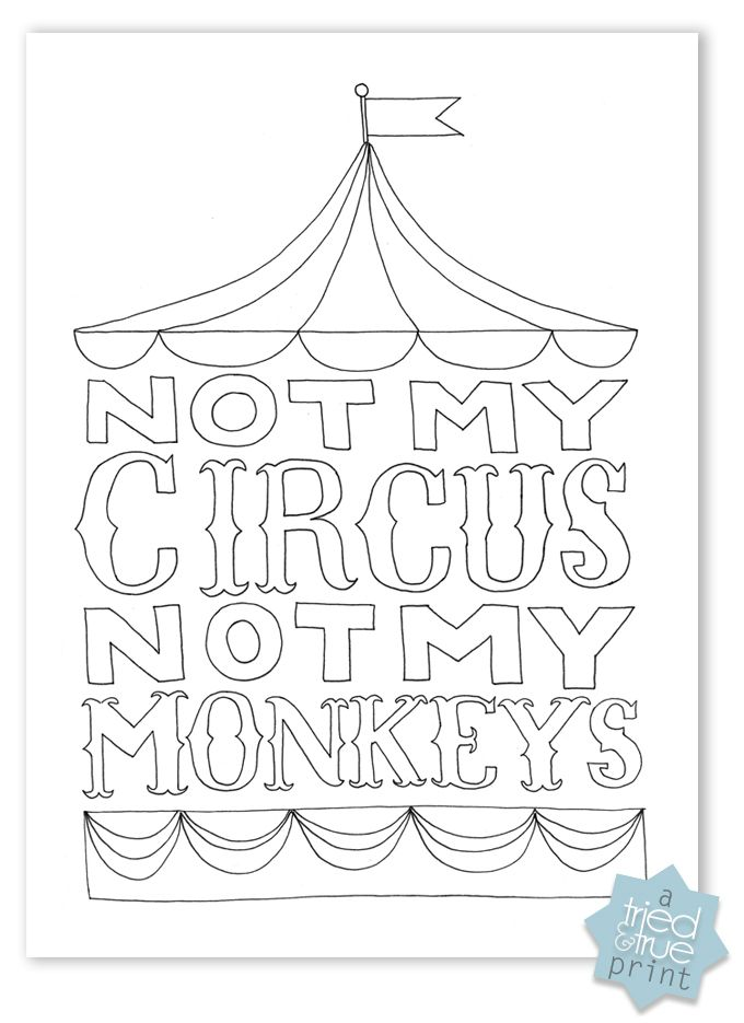 Witty image with free printable word coloring pages