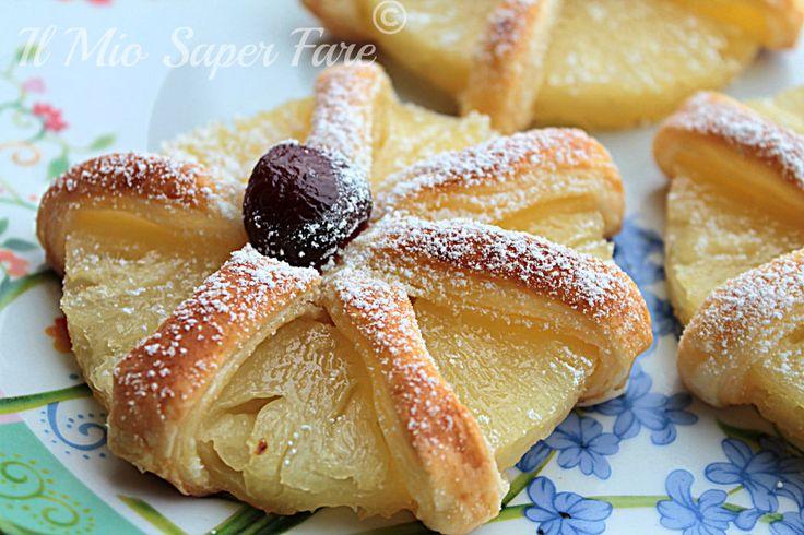 Delizie all'Ananas con Pasta Sfoglia blog il mio saper fare