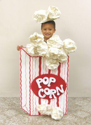 Popcorn Halloween Costume