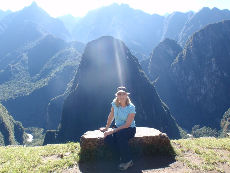 Maccu Picchu. Don't know her, just 'borrowed' her photo.