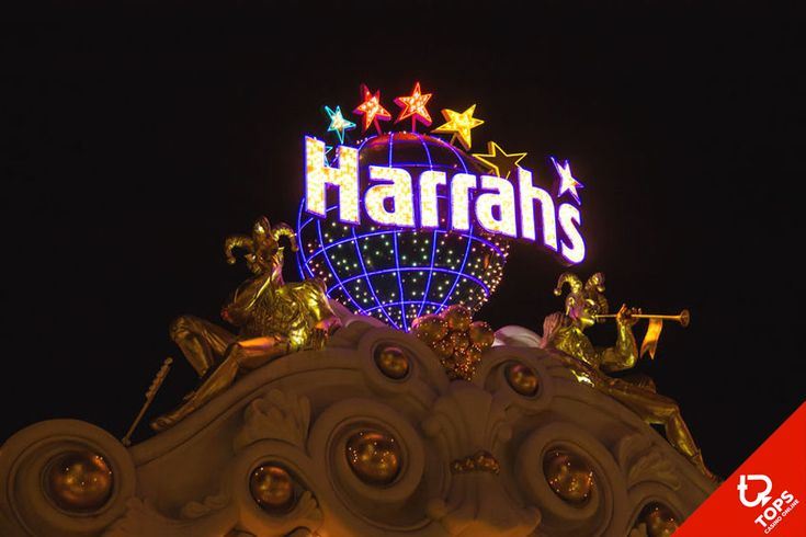 4 reasons to visit Harrah's Las Vegas Casino - The best casino on the strip! #LasVegas #Harras #Casino #News