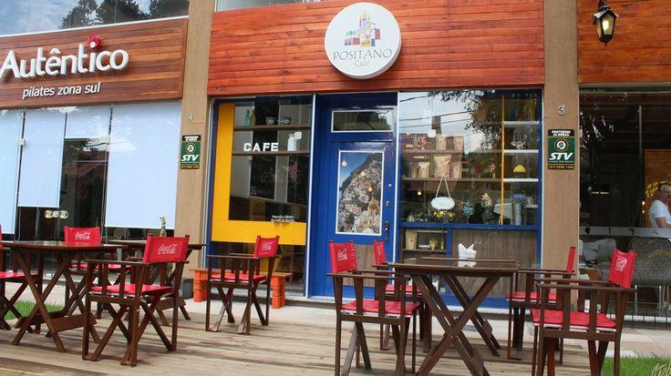 Na Zona Sul de Porto Alegre, o Positano Café tem ambiente bacana, comida boa e um atendimento show.