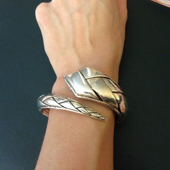 John Hardy bracelet Coil silver bracelet John Hardy Jewelry Bracelets