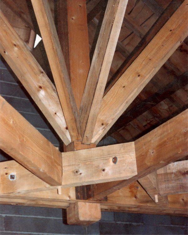 1000 id es sur le th me charpente sur pinterest charpente traditionnelle c - Sorbetiere en bois traditionnelle ...