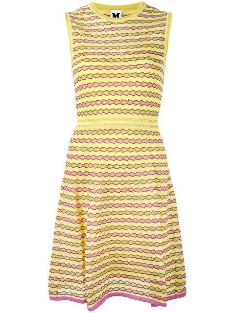 Shoppen M Missoni Tailliertes Kleid .