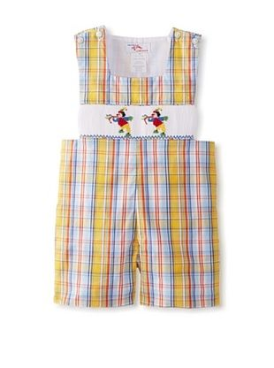58% OFF Viva La Fete Kid's Circus Sunsuit (Yellow Plaid)