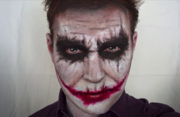 Perfect Joker makeup!
