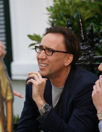 Nicolas cage rolex submariner celebrities watches pinterest nicolas cage rolex for Celebrity wearing rolex