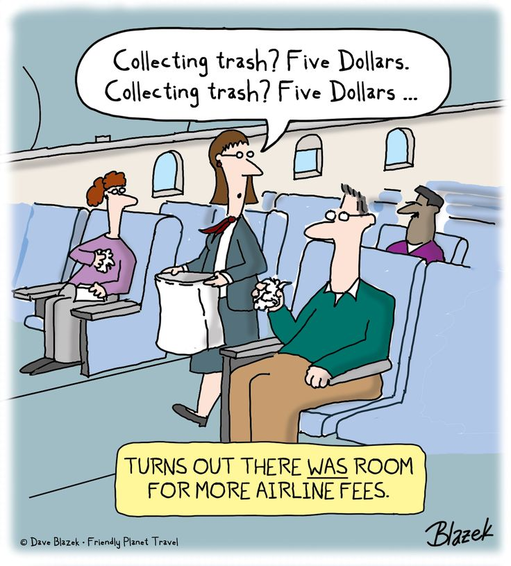 Turns out there was room for more airline fees.
