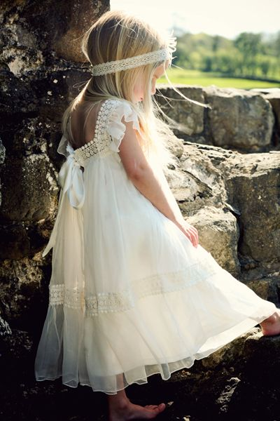 Tea Princess Dress | ... Country Weddings: The Most Cutest Flowergirl Dresses by Tea Princess