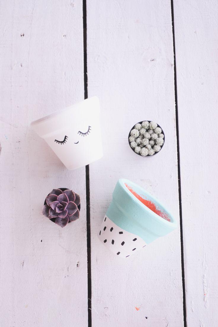 #face #pots #collection