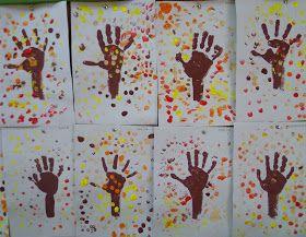 Pintar con los  dedos y las  manos  es una actividad que les gusta mucho a los niños/as, pintarse las manos, sentir la textura de la p...