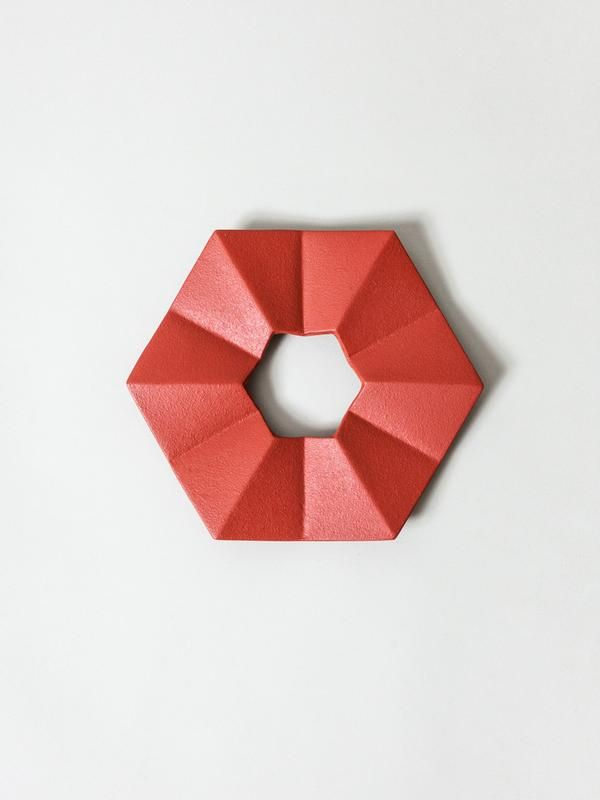 Iwachu Cast Iron Trivet Origami Red Origami Cast Iron It Cast