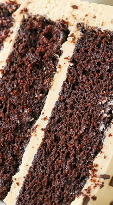 Kahlua Coffee Chocolate Layer Cake