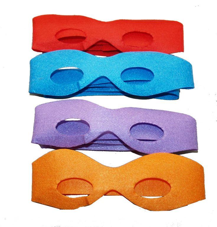 TMNT masks for kids party