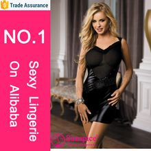 Best selling sexy lingerie mesh and wetlook halter dress with straps on back  Best buy follow this link http://shopingayo.space