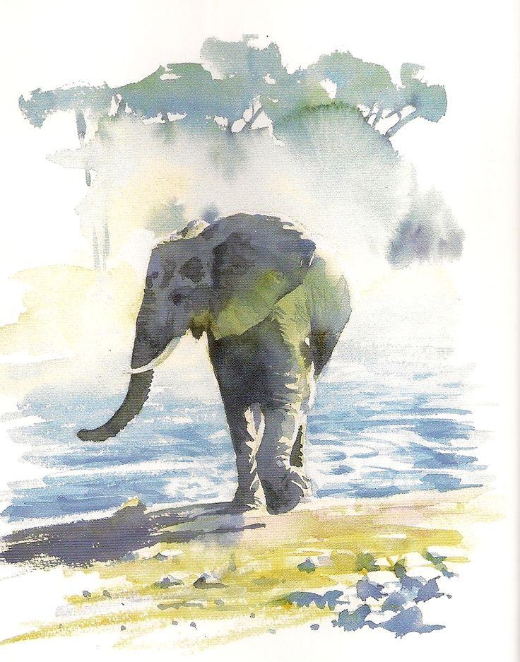 School Days Scrapbook: Hazel Soan's African Watercolours