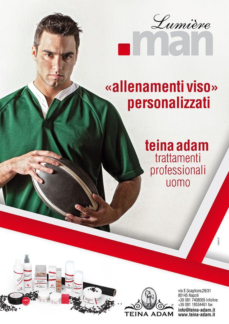 Lumière Man | trattamenti professionali uomo. www.teina-adam.it