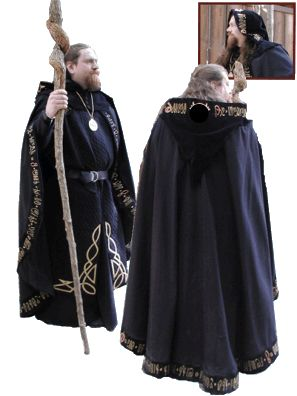 Good wizard costume for peeps. Thinking of putting the best men in wizardry outfits.