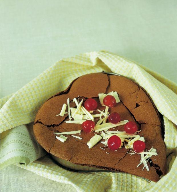 cuore tenero al cioccolato