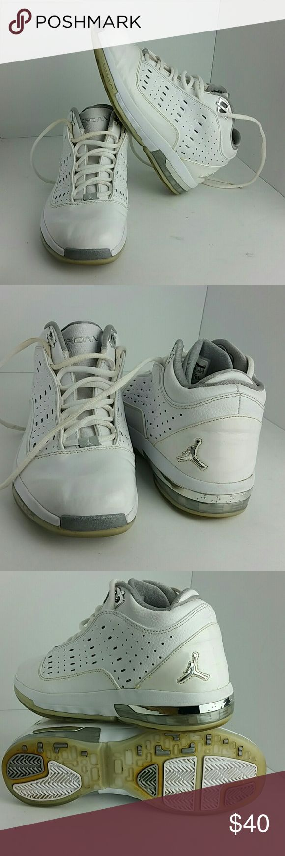 AIR JORDAN ONE 6 ONE 7 BOYS SHOES VERY CLEAN INSIDE-OUT   YOUTH SIZE 6.5Y WHICH IS WOMEN SIZE 8  SKE # TU air Shoes Sneakers