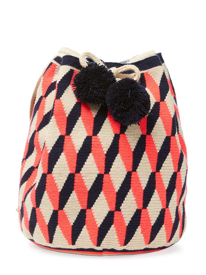 Lilla Bucket Bag from Beachy Keen Accessories on Gilt