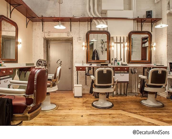 Barber Shop #decaturandsons