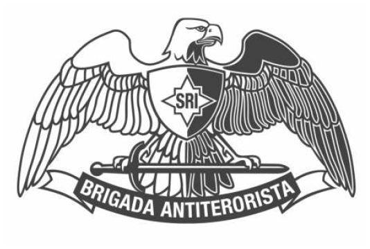 Vulturul carpatin, emblema Brigăzii Antiteroriste