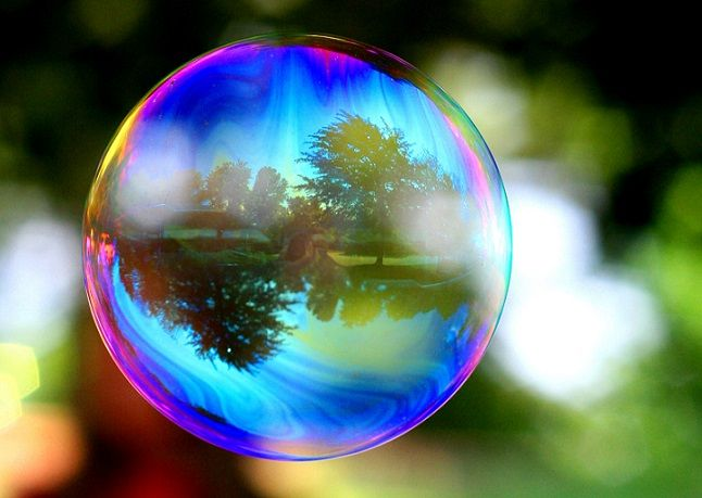 Your Daily Muse (Creative Prompt): A Spectacular Bubble