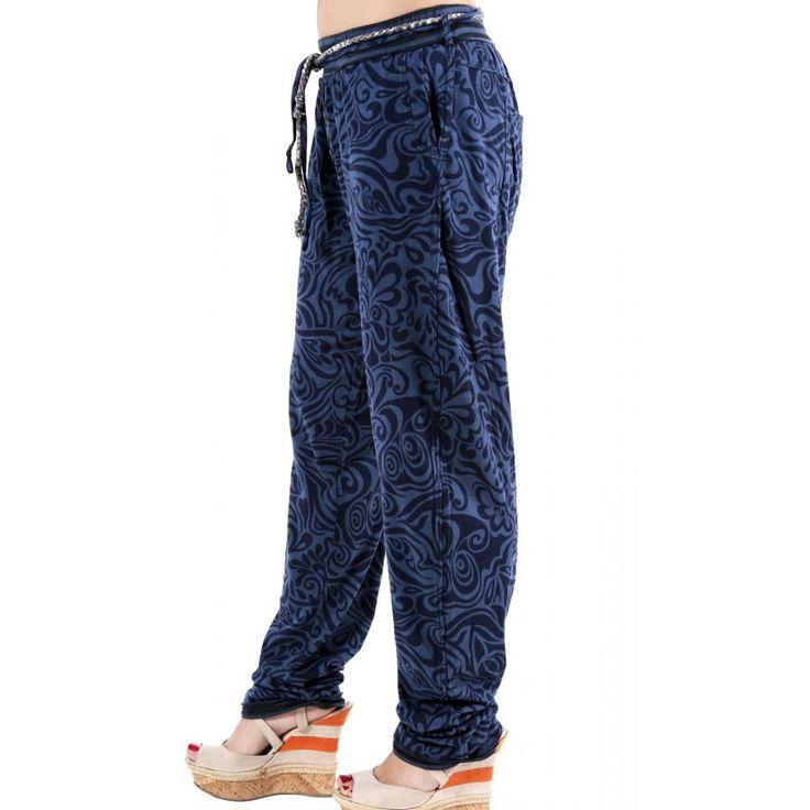 ALE Έθνικ ελαστικό παντελόνι, αποσπώμενη ζώνη