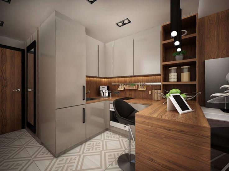 Kis lakás - mini otthon és munkahely egyben 25m2-en, modern stílusban, teljes funkcionalitással és kényelemmel