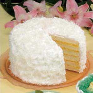 Six-Layer+Coconut+Cake  You could use a cake mix recipe that you use 4 eggs in the recipe with this filling & even use cool whip icing.