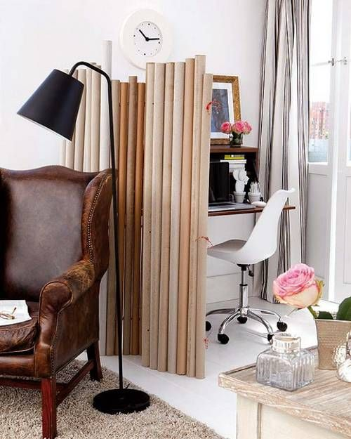 Apartment Decor Spotlight Budget Friendly Room Dividers: Recycling Paper For DIY Decorative Screens And Room