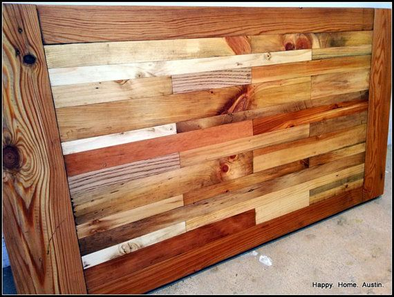 Reclaimed Salvaged Barn Wood Coffee Table Desk by HappyHomeAustin