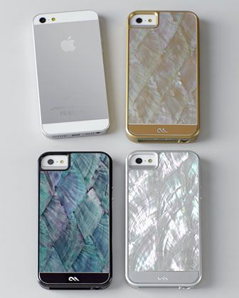 Mother of Pearl iPhone 5/5s Case - Neiman Marcus: Iphone 5S, Iphone Cases, Pearls Iphone, Mothers Of Pearls, Marcus Mobile, Neiman Marcus, Iphone 5 Cases, Iphone 5 5S, 5 5S Cases
